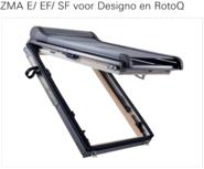 Store extérieur électrique ou solaire Roto