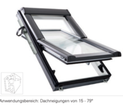 Designo R6 fenêtre à rotation centrale en PVC