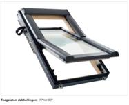 Designo R6 fenêtre à rotation centrale en bois blanc ou bois